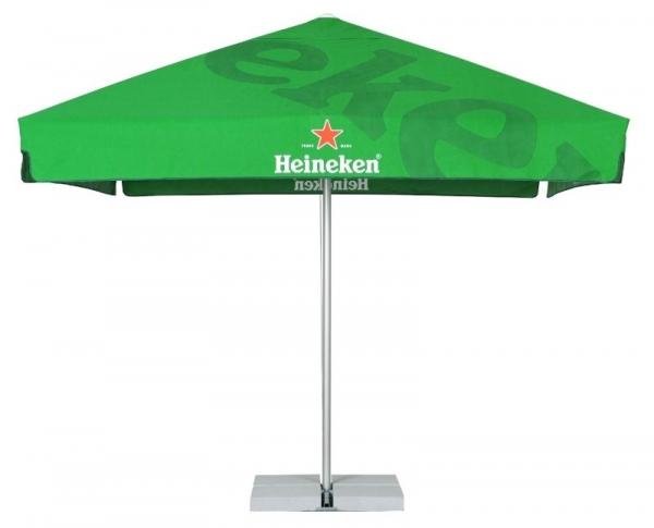 Parasol med logo_Heineken_Ziwes Eye-Catching